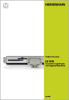 Product info: LS 1679 Incremental linear encoder with integrated roller guide