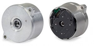 Figure 1: ECI 1119 / EQI 1131 FS - inductive rotary encoders with a diameter of 37 mm
