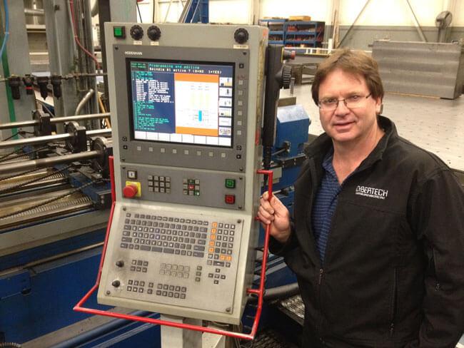 Dave Allen of Cybertech likes the HEIDENHAIN iTNC 530