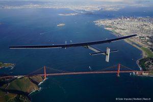 solar energy-powered airplane