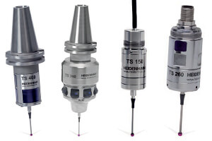 various HEIDENHAIN touch probes