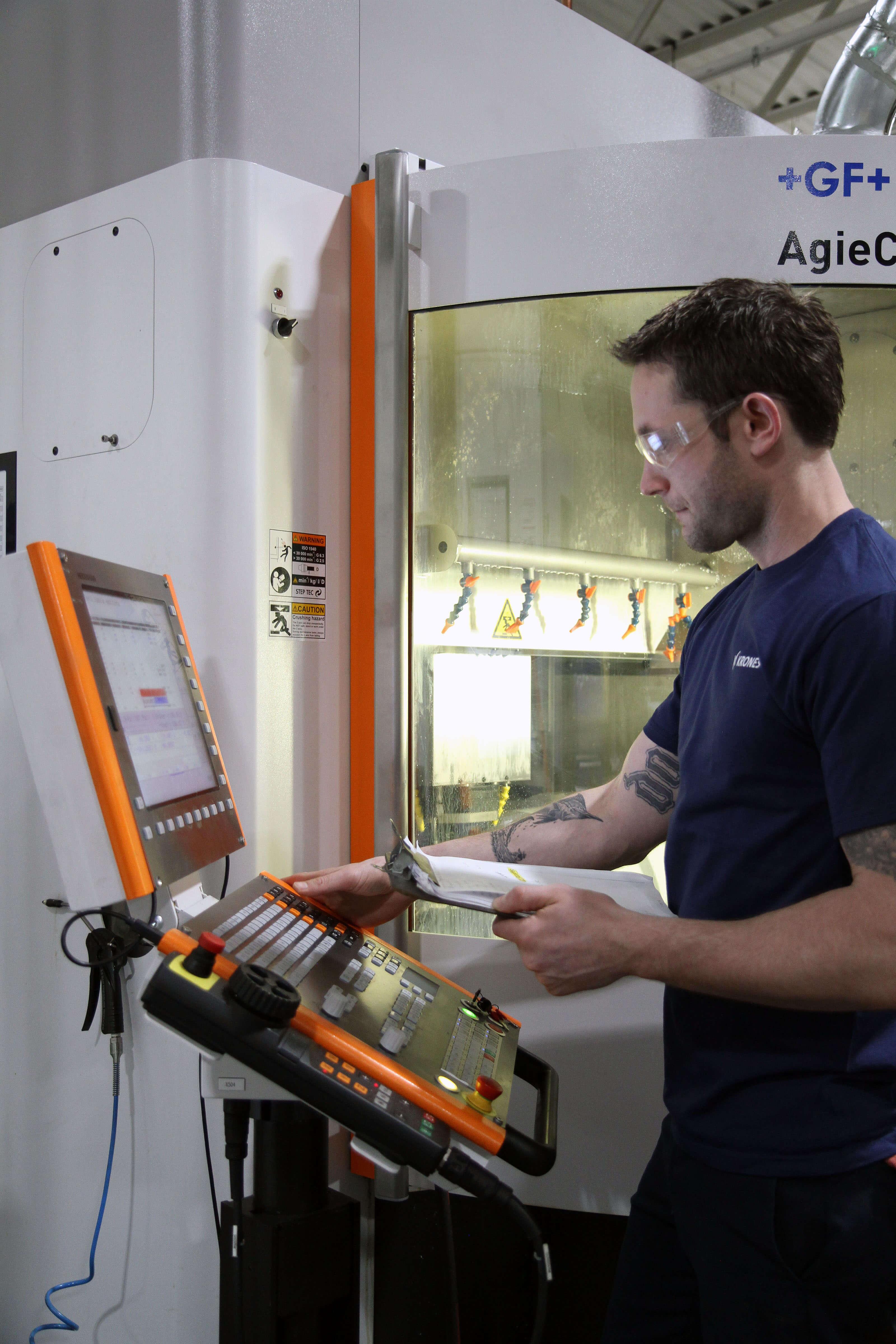 Digital Manufacturing in Action at Krones - HEIDENHAIN