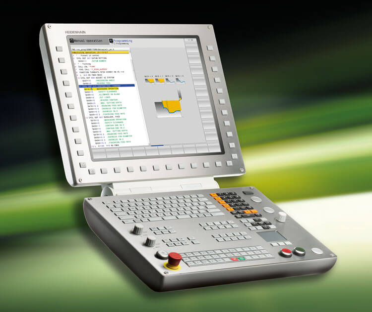 The Tnc 640 L High End Control For Milling And Turning