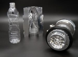 A Krones' mold for plastic bottles.