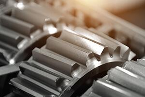 gears of a HEIDENHAIN servo motor