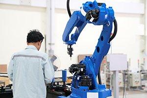 servo motor in robot